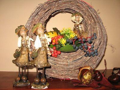 Őszi dekorációk - Piroschka - puszta, gulyás, csárdás és minden más