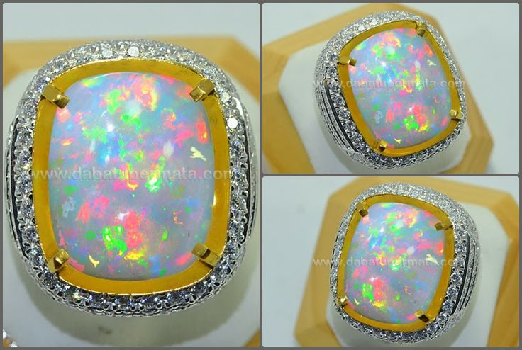 Sparkling Hot Fire KALIMAYA Panca Warna Crystal MulusCode:OP 026 + Sertifikat Nama:Natural OPAL No Heat Asal/Origin:Ethiopia/ Australia Berat Batu:16.1 ct Berat Total:33 ct Size/Ukuran:21.5 x 17.1 x 9.2 mm