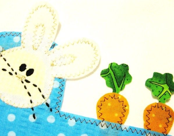 44 best easter sewing projects images on pinterest easter crafts appliqued easter bunny truck by lynn palmertree negle Choice Image