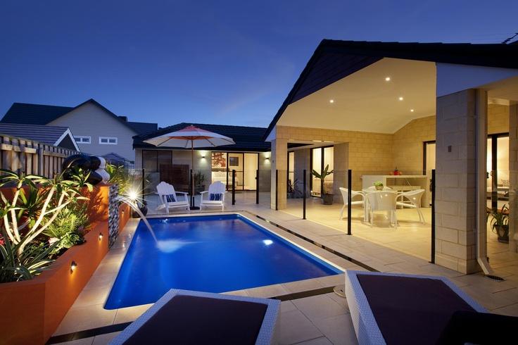 'Santa Fe' Fibreglass Pool - Buccaneer Pools