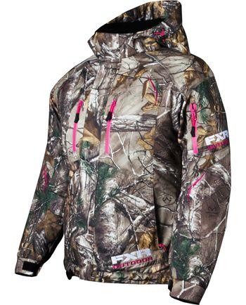 FXR Women's FRESH Jacket – CAMO  – Realtree Xtra