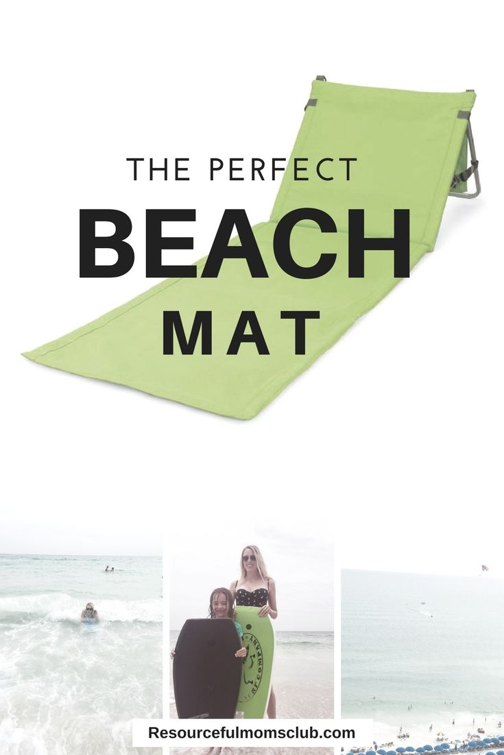 The Perfect Beach Mat - This is the perfect mat for the beach pool and park.