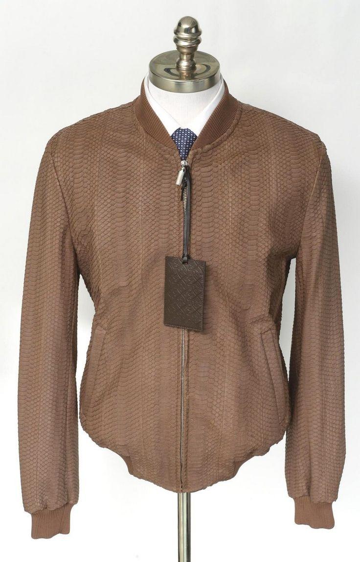 Light #brown #snakeskin keeps it interesting in this #Brioni #jacket.