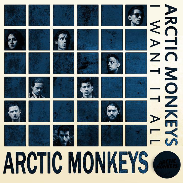 Arctic Monkeys development cover design