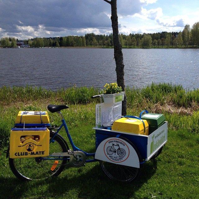 Pyöräkiska Inkivääri - rantaraitilla palvelee pyöräkiska, jonka aikatauluja voi seurata FB sivuilla - http://www.facebook.com/pyorakiska