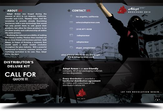 Adept Armor™ cleaning and surface protection products have the unique ability to repel water, oil, and dust which has proven effective in reducing maintenance time.