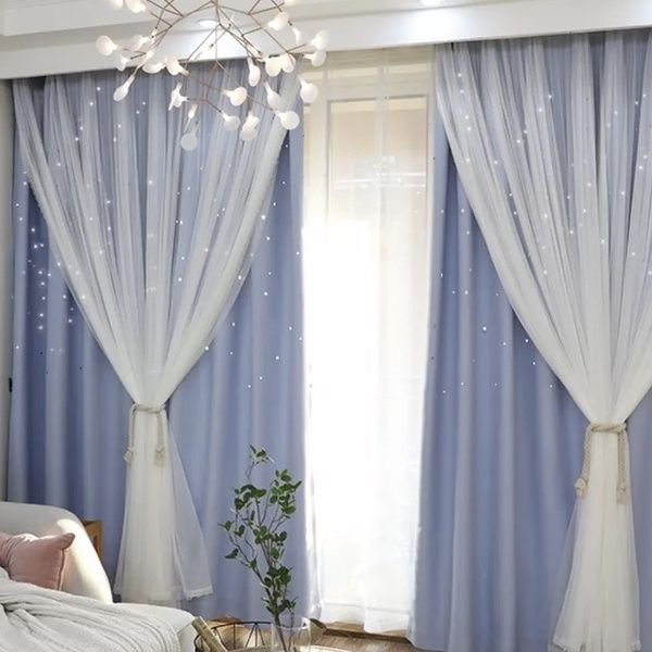 2018 European Style Home Decor Romantic Voile Cloth Curtains For Living Room Ready Blackout Drapes Window Tulle For Bedroom Cortinas In 2020 European Style Homes Window Drapes Living Room Grey