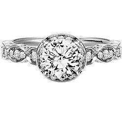 Deborah ArtCarved Diamond Engagement Ring   Artcarved   Scott Kay   Danhov Engagement Rings   JR Jewelers