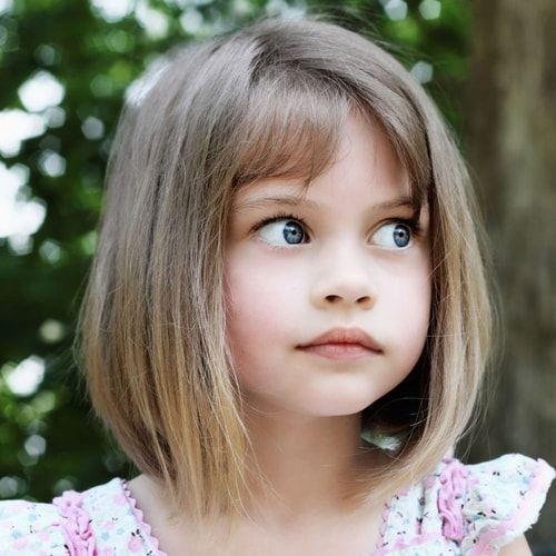 Célèbre Oltre 25 fantastiche idee su Tagli di capelli da bambina su  VR75
