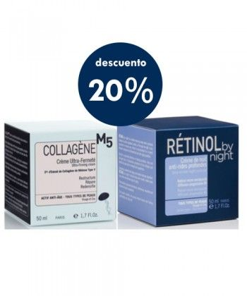 20% Crema COLLAGÈNE M5 + RETINOL By Night