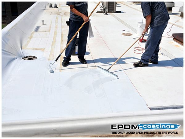 LIQUID ROOF COATINGS FOR ROOF REPAIR U2013 OBVIOUS TREATMENT The Hole On The  Roof Allowing The