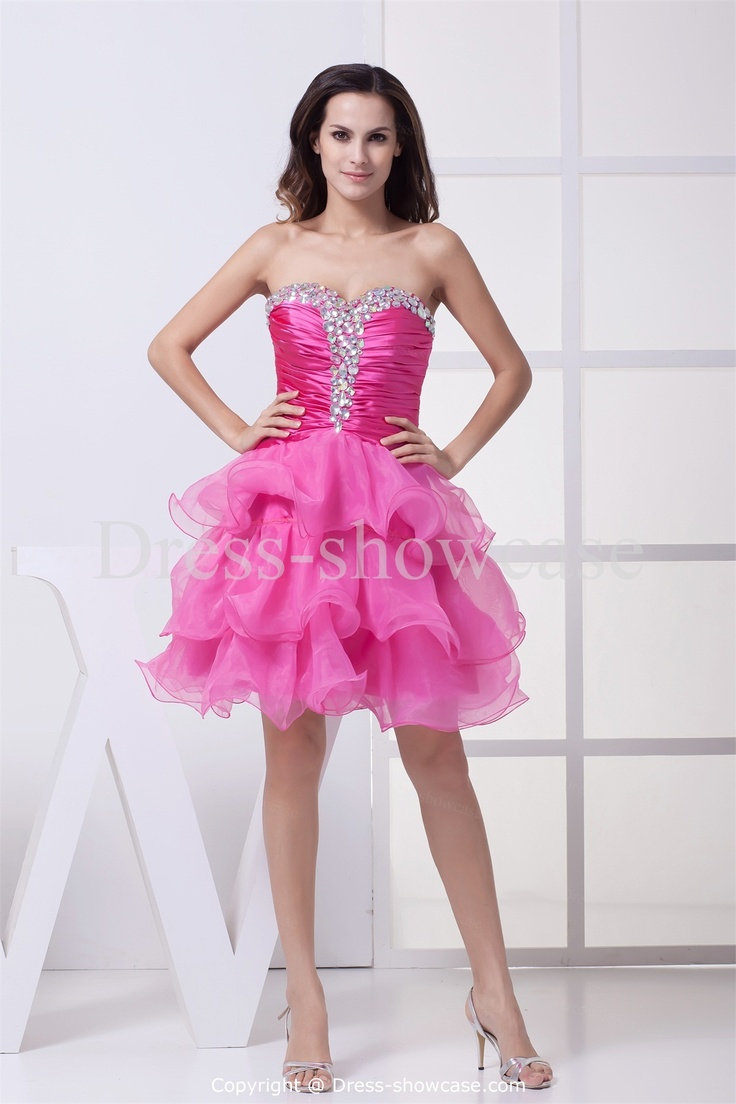 On pinterest organza dress strawberry roses and quinceanera dresses