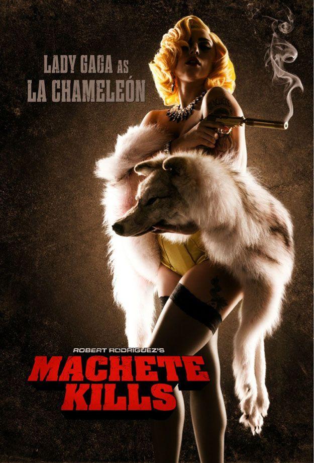 Lady Gaga Cast in MACHETE KILLS, Character PosterReleased - News - GeekTyrant