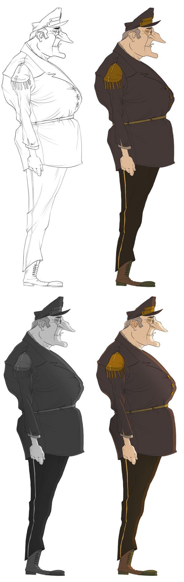 Anime Character Design Process : Best images about character design on pinterest
