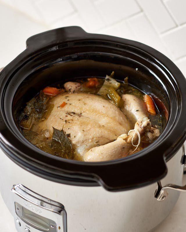 Recipe Slow Cooker Whole Chicken Soup Recipe Whole Chicken Soup Slow Cooker Recipes Stuffed Whole Chicken