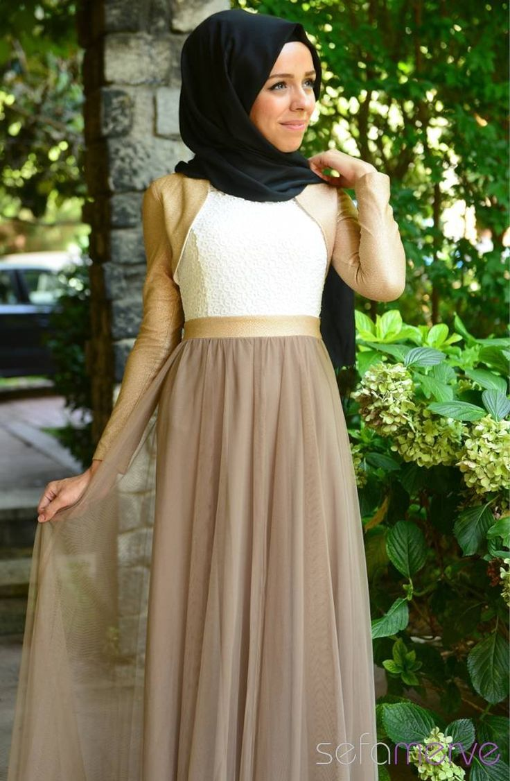 Tesettür Elbise Vizon 119.90 TL #sefamerve #tesettur #tesetturgiyim #elbise#yenisezon #2014 #Hijabdress #Hijab #newseason