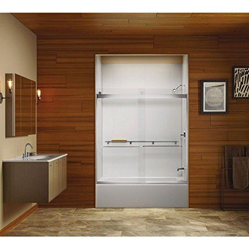 Renovate Your Bathroom Or Shower Room With This Levity Semi Framed Bypass  Tub/Shower Door And Handle In Nickel From KOHLER.