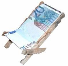 20 euro stoeltje