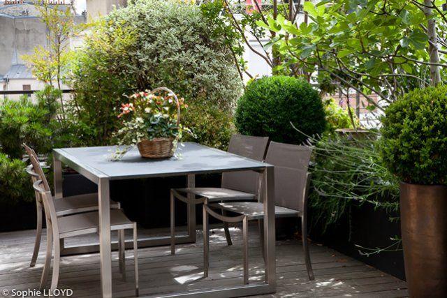 Une terrasse écrin - Christian Fournet, Paysagiste - conception, création &…