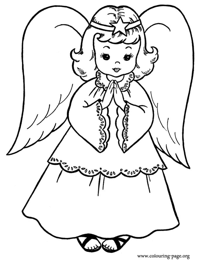 185 best color pages images on pinterest   coloring books ... - Coloring Pages Beautiful Angels