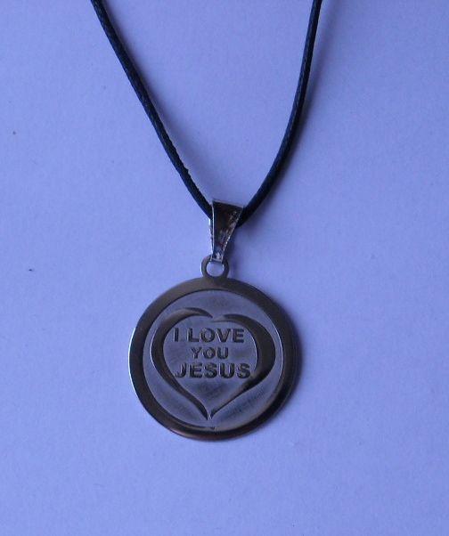 Silver 925. I Love Jesus. 20 mm. Contact us on info@tiemmecreazioni.it