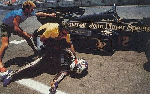 Nigel Mansell, Dallas GP 1984