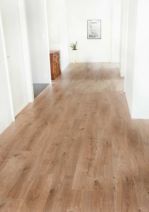 Godfrey Hirst | Laminate flooring | Get the look with Vue Laminate in Mountain Parchment | Beautiful home of blogger Yellow Dandy #godfreyhirst #laminateflooring #laminate #floors #flooring #hardflooring #yellowdandy