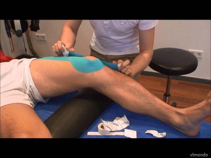 Tape: Kniegelenk stabilisieren