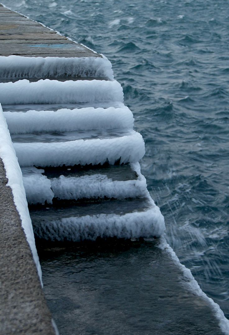 Ice on Trieste