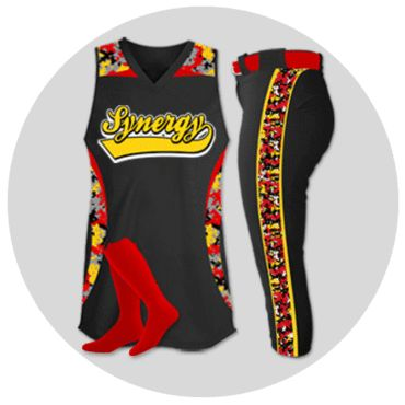 Custom Sublimated Fastpitch Softball Uniforms | Team Sports Planet