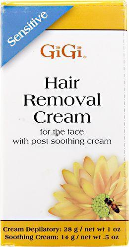 GiGi Sensitive Hair Removal Cream For Face
