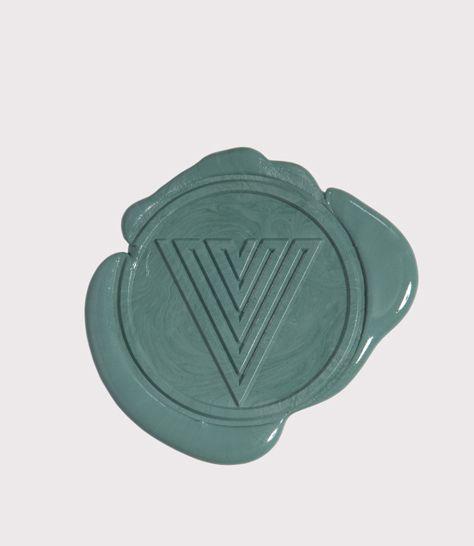 limited edition of 40 wax seal for De Collectie Verrijkt - design Roosje Klap