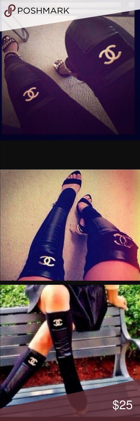 Women's leather leg warmers Leather/Cotton leg warmers for women Accessories Hosiery & Socks