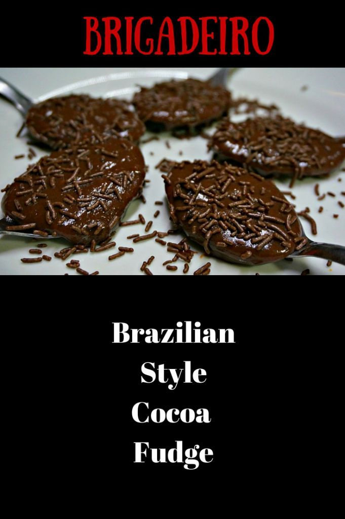 Brigadeiros - Brazilian Style Cocoa Fudge. This is a favorite dessert in Rio de Janeiro. Typically formed into a ball and covered with nuts or chocolate sprinkles. But sometimes desserts are more fun right out of bowl. Chocolate indulgence at its best! @venturists