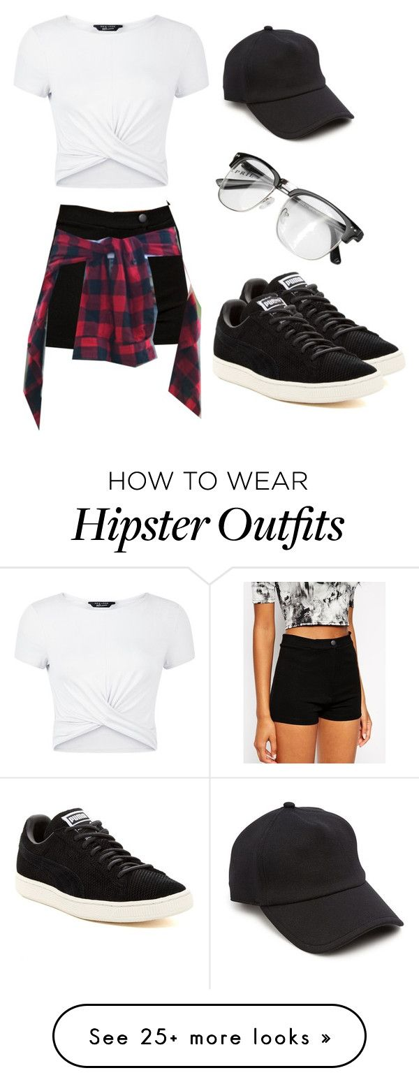 """Untitled #800"" by cali-dreams on Polyvore featuring New Look, ASOS, Puma and rag & bone"
