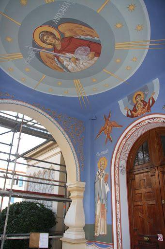 Росписи храма Киприана и Устиньи в Менико. Кипр - Tamara Zvetkova - Picasa Web Albums