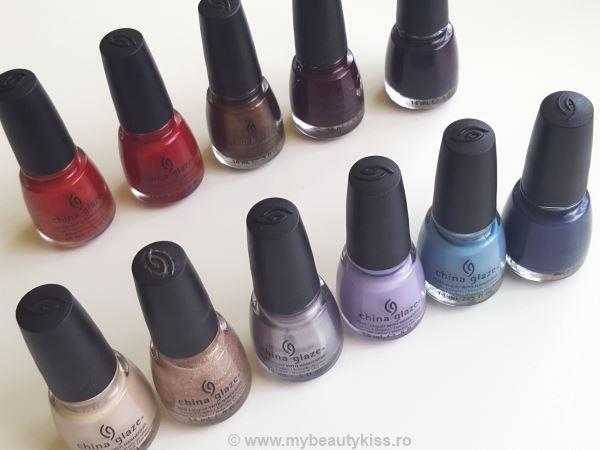 Review and swatch:  China Glaze nail polishes http://www.mybeautykiss.ro/ChinaGlaze_nailpolishes.php