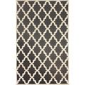 nuLOOM Moroccan Trellis Faux Silk Dark Grey Rug (9' x 12'7) | Overstock.com Shopping - The Best Deals on 7x9 - 10x14 Rugs