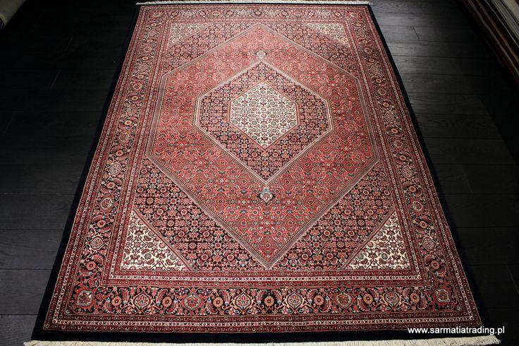 Bidjar 167x238; wełna z jedwabiem. Dywany Kolekcjonerskie; Sarmatia Trading