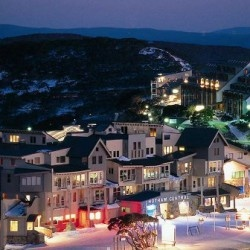 Mt Hotham, Victoria. Can't wait to go - great mates, rug up, wine by the fire... Sounds perfect!
