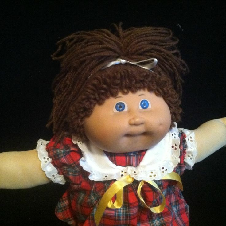 Vintag Jesmar Cabbage Patch Kid Girl Brown Hair One