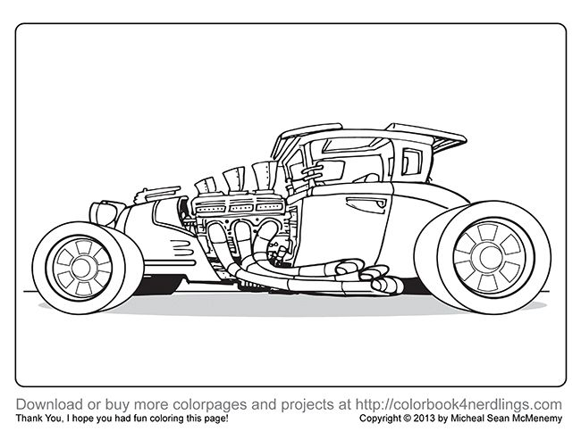 car garage coloring pages - photo#20