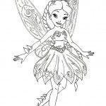 Pixie hollow fairies coloring pages tegning pinterest for Pixie hollow coloring pages