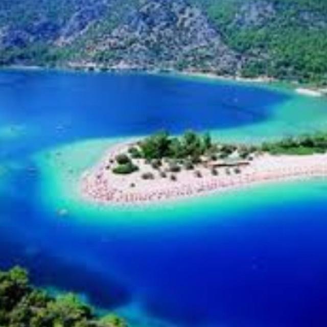 Dead sea Fethiye, Turkey