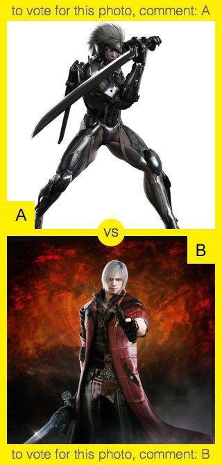 A or B? To vote for top photo comment A, to vote for bottom photo comment B. See results at http://swingvoteapp.com/#!polls/5383. Click here http://swingvoteapp.mobi/ to install Swingvote mobile app and create your own polls.