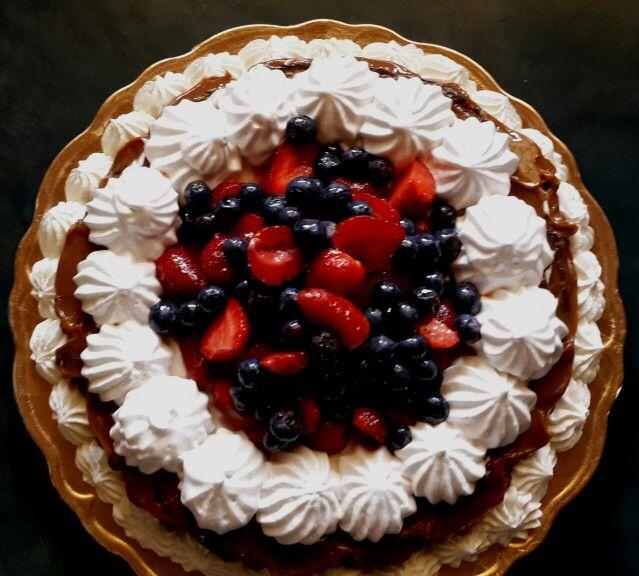 Marquisse de chocolate+frutos rojos | Las Tortas de Maria | Pinterest