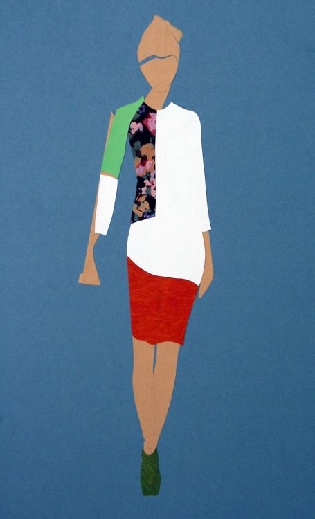 Preen Autumn / Winter 2012 Illustration: James Norris for Pret-A-Rever