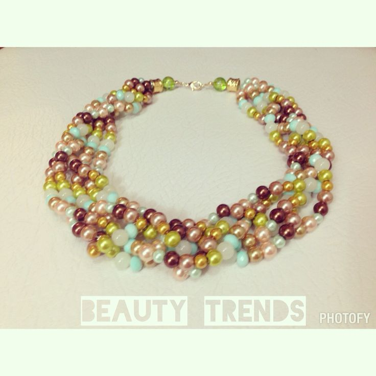 Perlas por tonos tierra