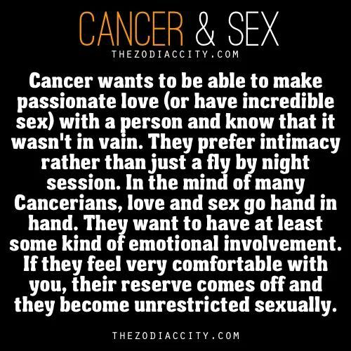 Cancer woman sexuality horoscope