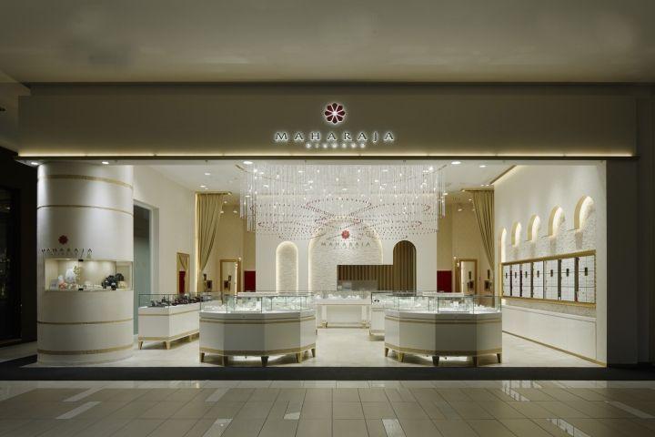 «Бриллиантовый» дизайн ювелирного магазина MAHARAJA diamond